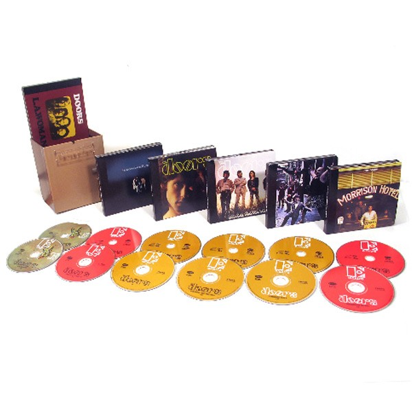 The Doors Perception Box Set 6 Cd + 6 Dvd ...  sc 1 st  The Music Store & The Music Store - The Doors Perception Box Set 6 Cd + 6 Dvd