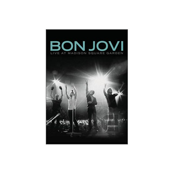The music store bon jovi live at madison square garden dvd for Bon jovi madison square garden