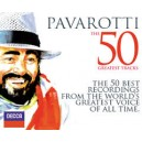 Pavarotti The 50 Greatest Tracks 2 CD's