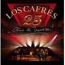 Los Cafres 25 Años De Música Shows En Vivo 2 CD's