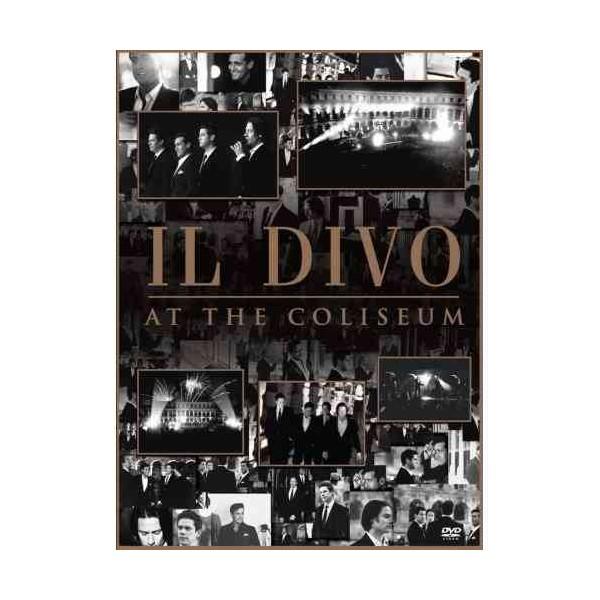 The music store il divo at the coliseum dvd - Il divo at the coliseum ...