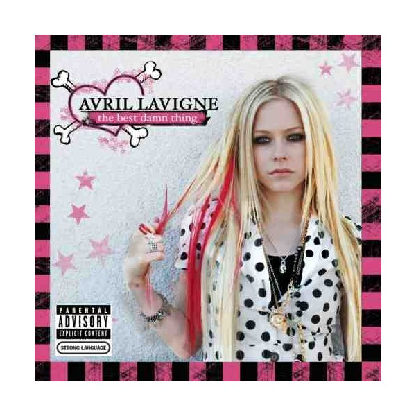 The music store avril lavigne the best damn thing cd dvd
